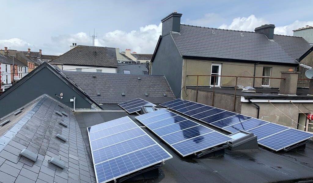 Kingston's Townhouse Solar Panels