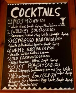Kingstons Cocktails